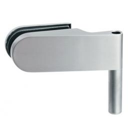 Horizontálny pánt na sklenené dvere SP - 10118 - BN - brúsená nerez