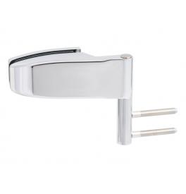 Horizontálny pánt na sklenené dvere CT - CER101C - OC - Chróm lesklý