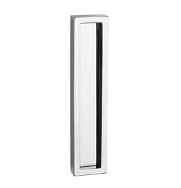Griffmulde für Glasschiebetür PAMAR 1158Z - OC - Chrom glänzend