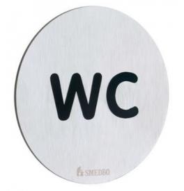 Nalepovací piktogram WC