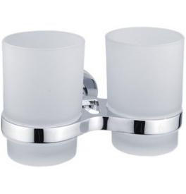 Držiak s dvoma sklenenými pohármi NIMCO Metro