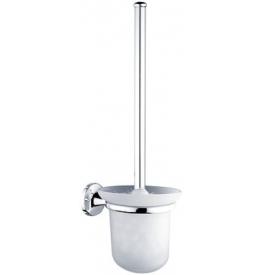 Toaletná kefa v malej sklenenej nádobe NIMCO Monolit
